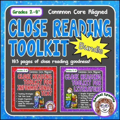 Close Reading Toolkit Bundle
