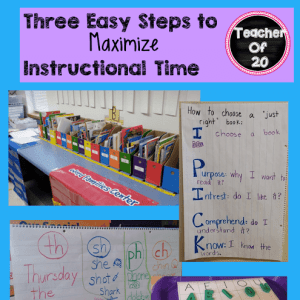 3 Easy Steps to Maximize Instructional Time