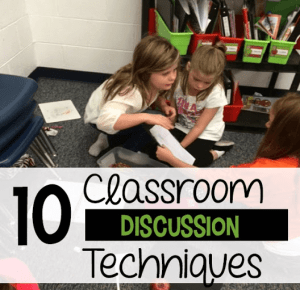10 Classroom Discussion Techniques