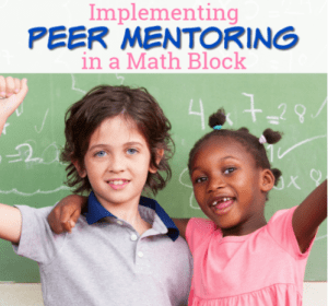 Implementing Peer Mentoring in a Math Block