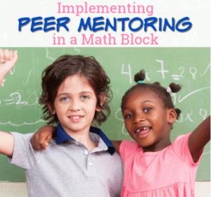 Implementing Peer Mentoring in a Math Block
