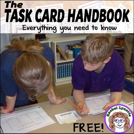FREE Task Card Handbook