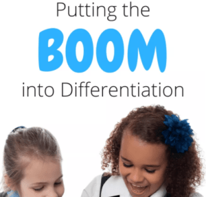 Putting the BOOM into Differentiation!
