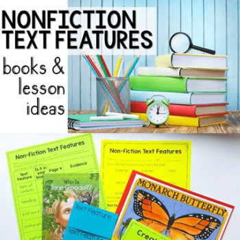 Nonfiction text features is an overwhelming topic to teach in English language arts, especially because it's not a very exciting topic and because there are so many. However, our guest blogger has broken down how to teach nonfiction text features into bite-sized, easy steps to make it accessible for both teachers and students. Click through to learn more about these strategies for upper elementary classrooms!