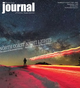 North Coast Journal cover by David Wilson: Volume XXX, Issue 1
