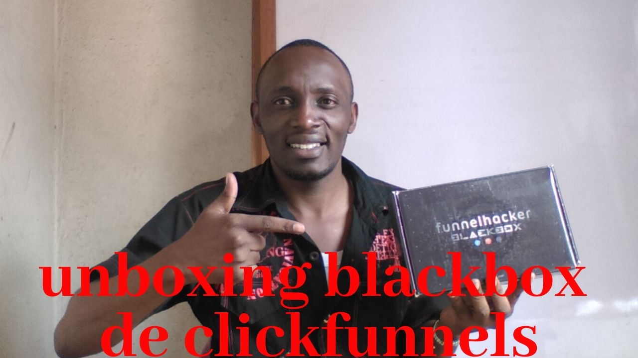 UNBOXING de la BLACKBOX CLICKFUNNELS de Russell Brunson
