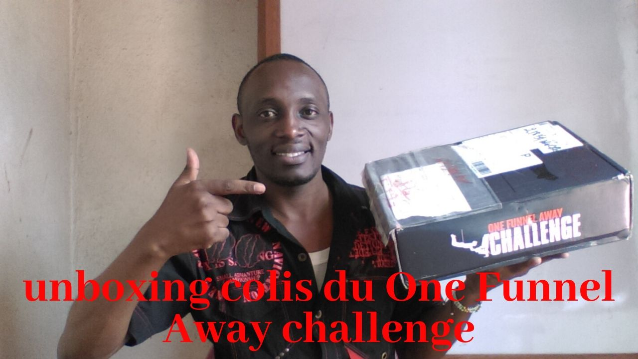 UNBOXING de ma boxe du One Funnel Away challenge