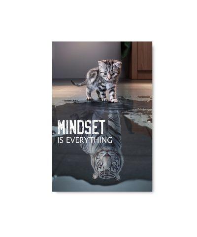 shark goldfish poster mindset is