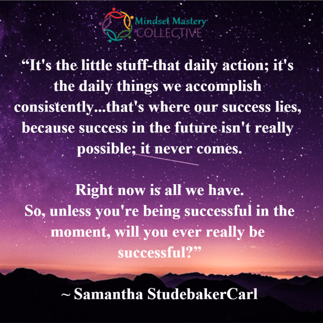 samantha quote on success in the moment