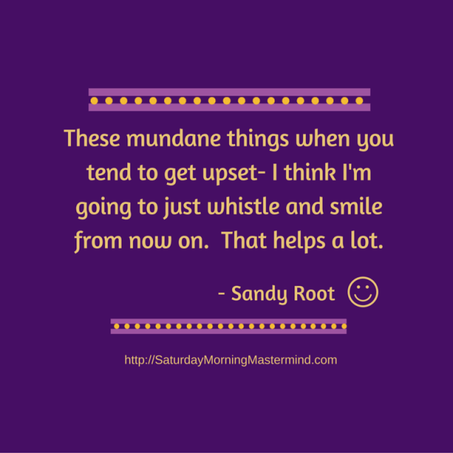 sandy root quote