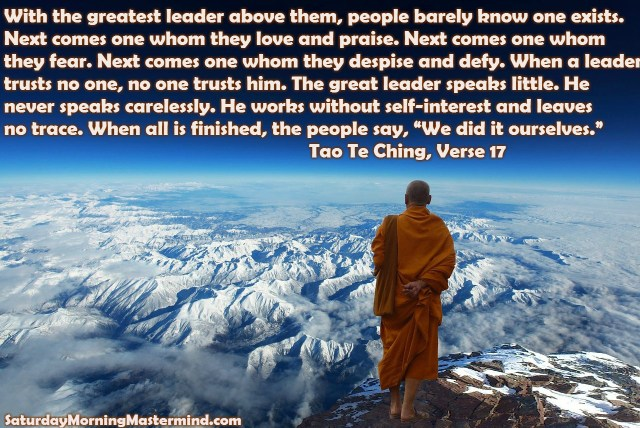 being an enlightened leader