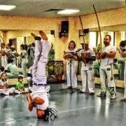Capoeira group in Rio de janeiro