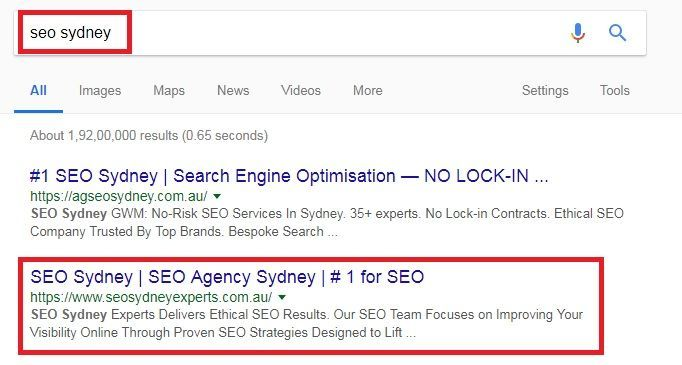 seo-sydney-experts-rankings