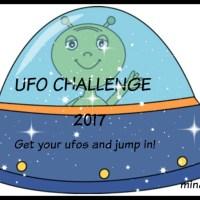 Οι μισοτελειωμένες χειροτεχνίες και ένα UFO challenge.