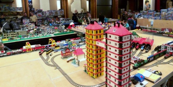 Expo Lego Bertrange 2012 - Train