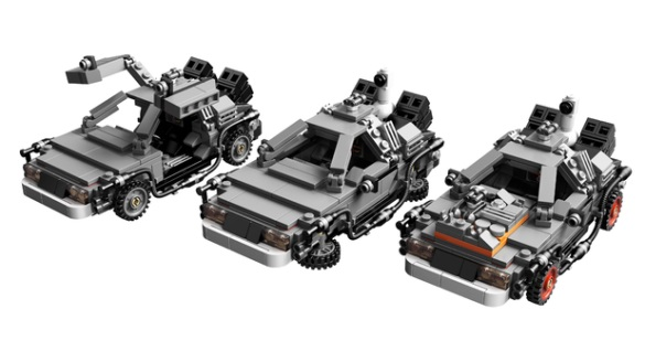 Lego Cuusoo Delorean