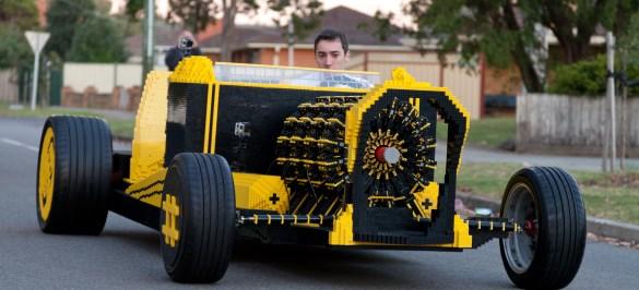Hot Rod Lego