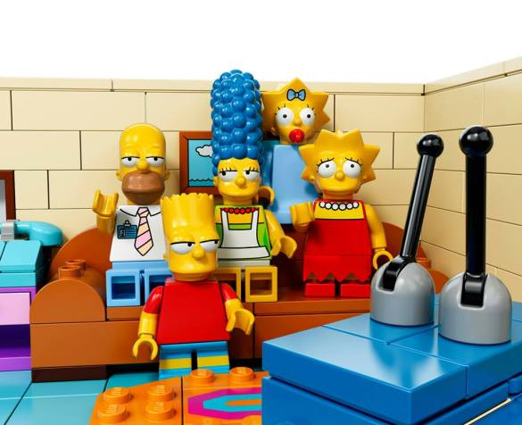 Lego Simpsons set 7106 famille