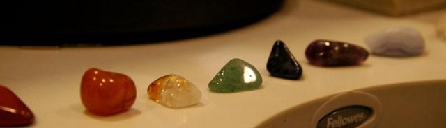 des chakras et des pierres