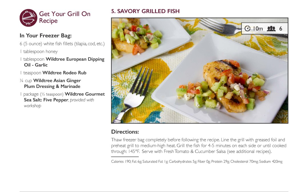 Savory Grilled Fish