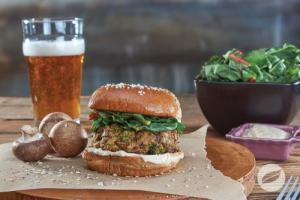 mushroom-burger