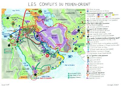 Les conflits du Moyen-Orient