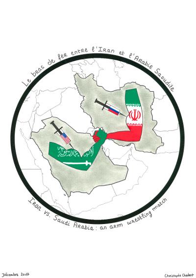 La lutte de pouvoir entre l'Arabie saoudite et l'Iran