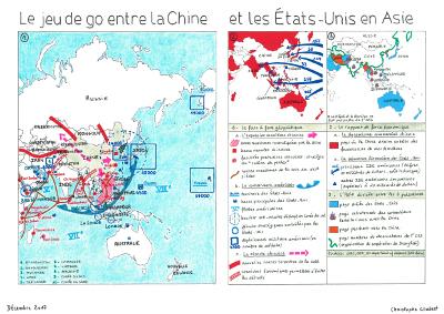 Le jeu de go entre la Chine et les Etats-Unis en Asie