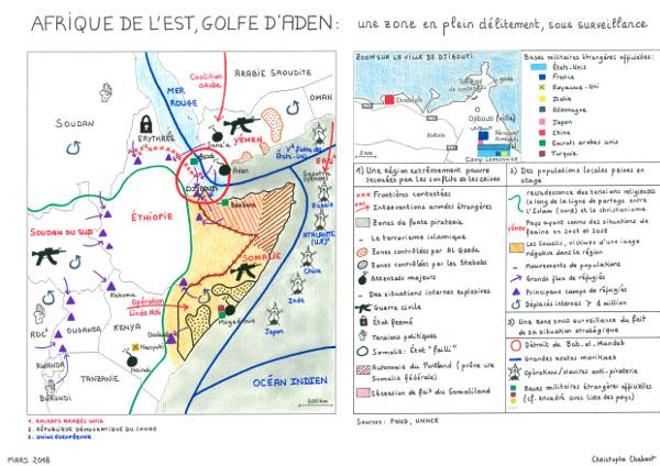 Afrique de l'est et golfe d'Aden : une zone en délitement, sous surveillance
