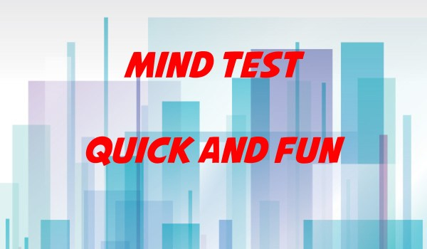 Quick and Fun Mind Test – Mind Tricks Gallery
