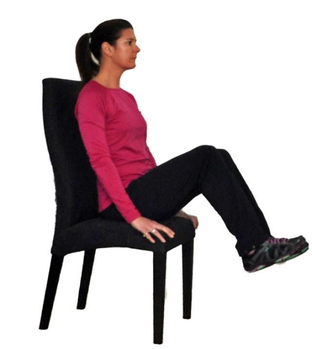 7 flat belly exercises can chair 2 - 5 Flat Belly Exercises That You Can Do In a Chair