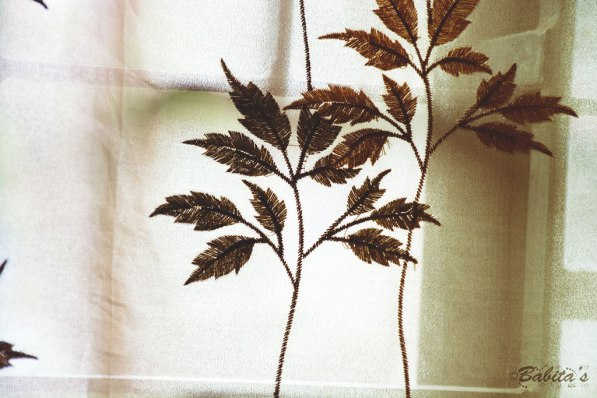 Patterns on the curtain