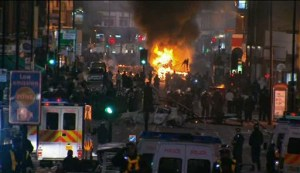 Беспорядки в Лондоне, август 2011
