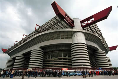 Stadio San Siro. Stadio Giuseppe Meazza - домашний стадион AC Milan и Internazionale