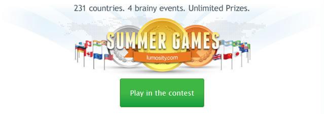 Летние игры Lumosity