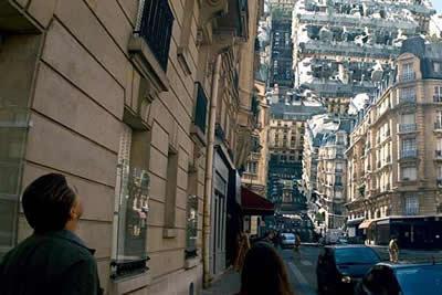 Кадр из фильма Начало
