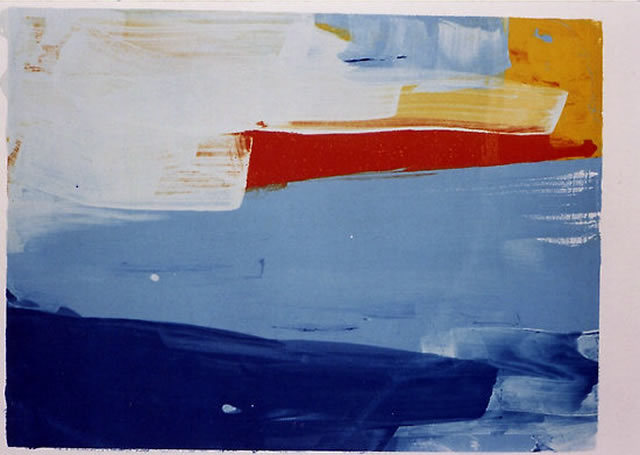 Lisa Remers - Abstract Sunset