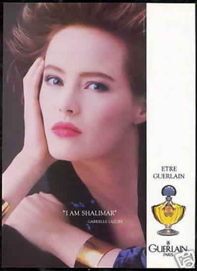 Реклама духов Shalimar компании Guerlain