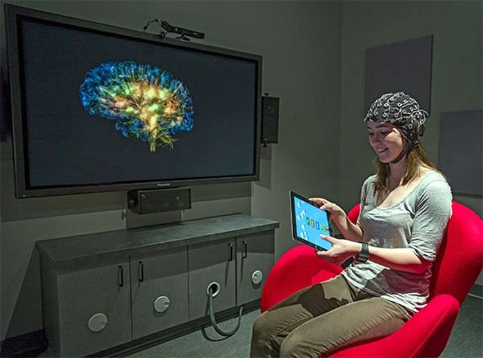 визуализация работы мозга