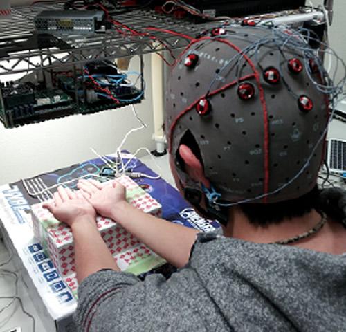ультразвуковой дисплей в использовании