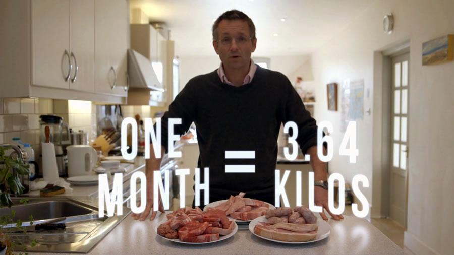 сколько Майкл собирается съесть за месяц