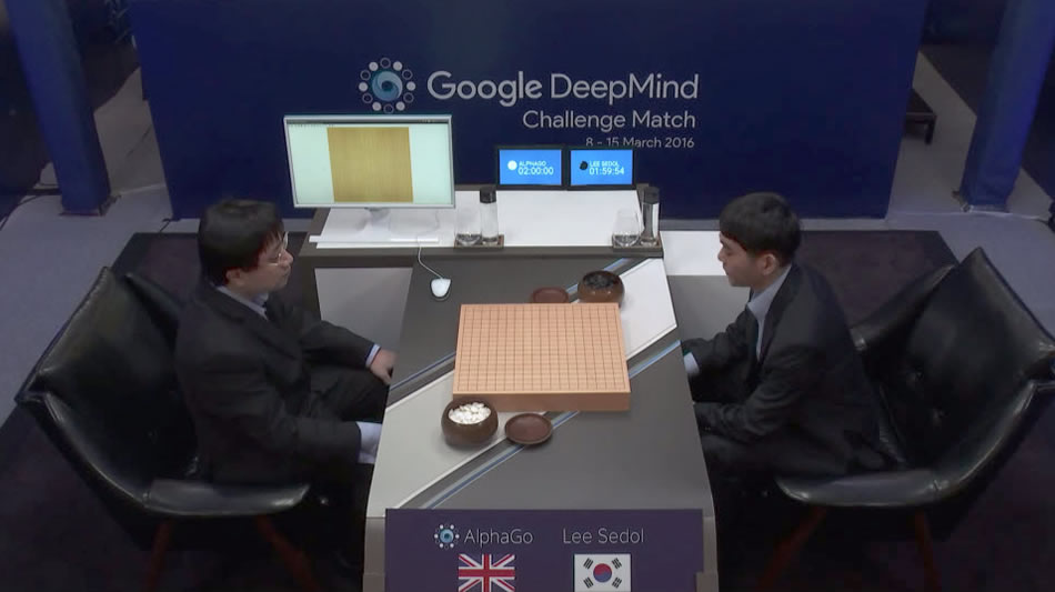матч AlphaGo vs Lee Sedol