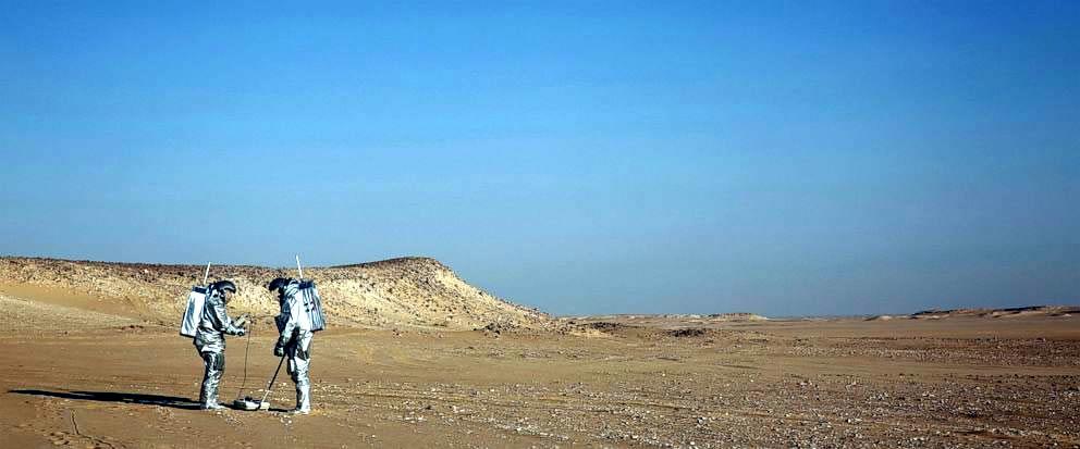 пустыня Дхофар, симуляция экспедиции на Марс