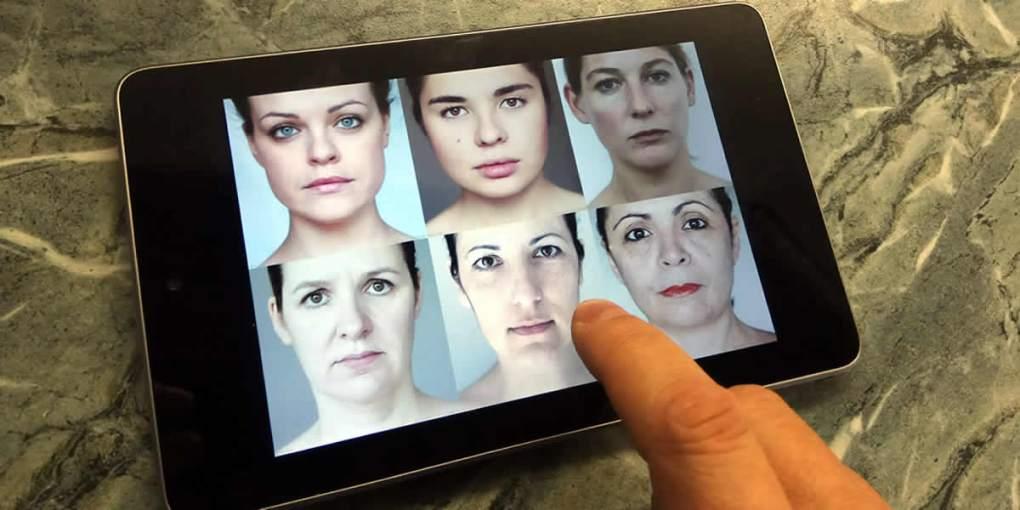 эксперимент лица