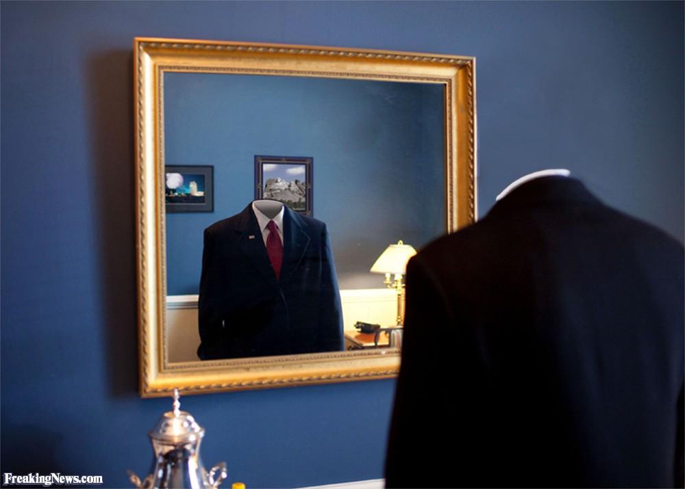 невидимка в зеркале