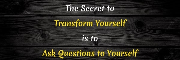 Quote: Transform Yourself