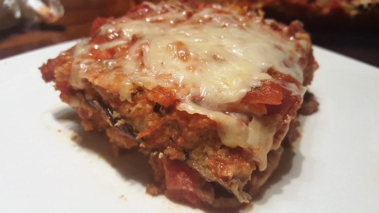 eggplant parmesan lasagna