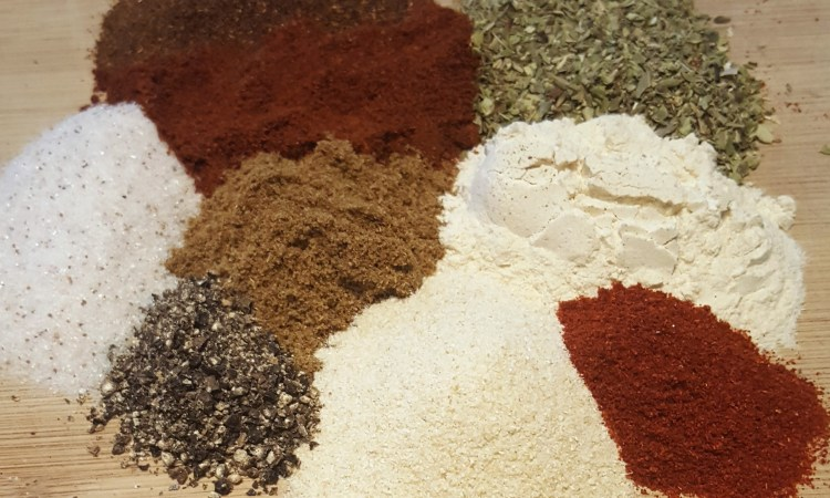 Chipotle Taco Seasoning ingredients