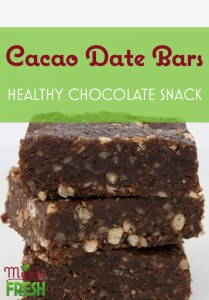 cacao date bars