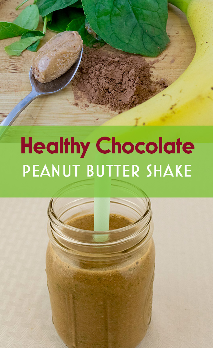 Healthy Chocolate Peanut Butter Shake
